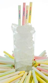 Edible straw L