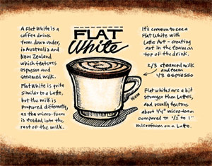 US: Starbucks adding 'Flat White' to its menu