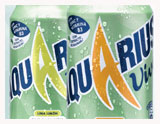 Aquarius Vive soft drink