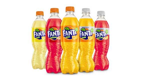 New Fanta bottle