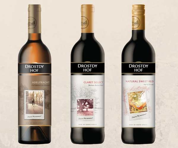 Drostdy Hof unveils revamped look for its range of wines