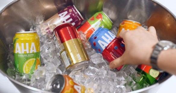 Coca-Cola ups the sparkling water ante