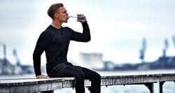 Protein waters without the taste of protein