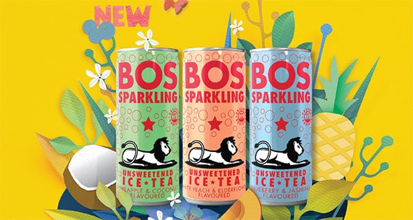 BOS tea launches unsweetened variant