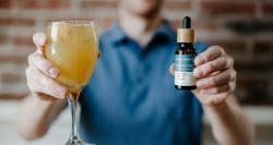 Making alcohol-free beverages better: could CBD help?