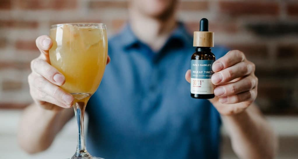 CBD and alcohol-free beverages