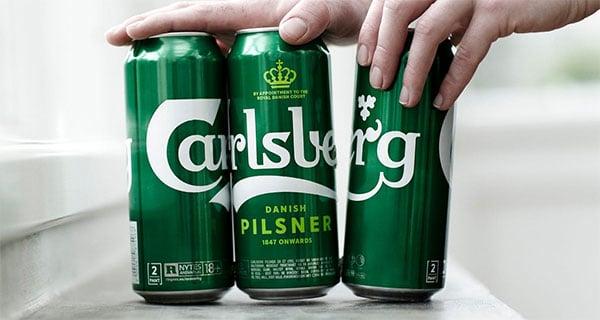 Carlsberg cracks open 'Snap Pack' beer can packaging