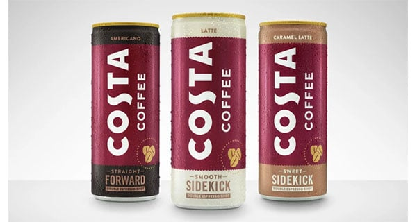 Coca-Cola's Costa Coffee launches new RTD