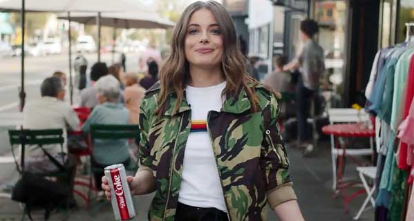 US: Diet Coke's surprising new TV ad say 'life is short' so you may as well drink it