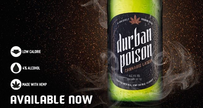Distell to distribute cannabis lager for Poison City Brewing