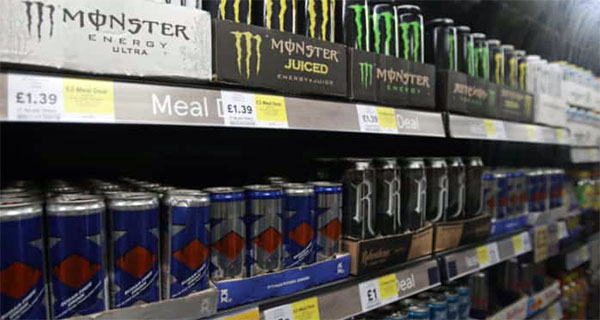 UK government proposes banning energy drink sales to kids