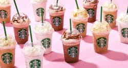 Starbucks puts Frappuccino on a diet