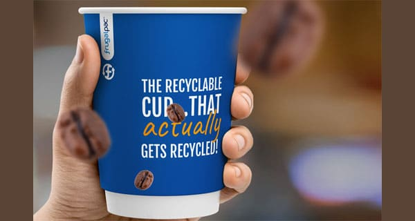 Finally…. a take-out coffee cup that can be easily recycled