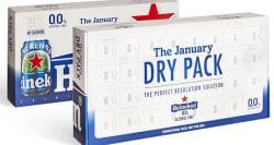 Savvy Dry January campaign from Heineken