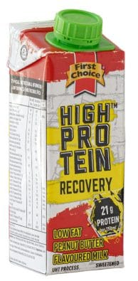 High Protein Recovery Drink