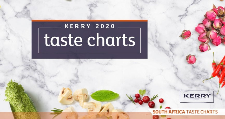 Kerry's South African flavour chart 2020