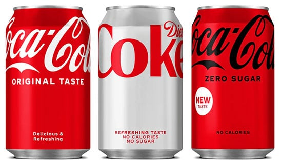 Global revamp for Coca-Cola range as it sticks by unified pack strategy