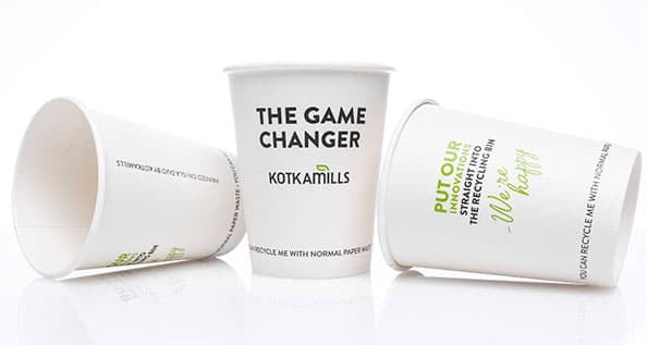 Winning ideas to reimage the future of the fibre to-go cup