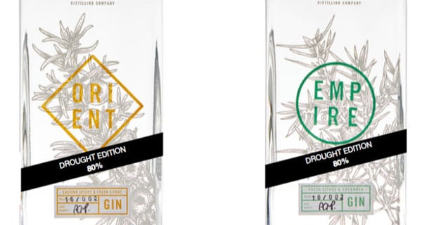 Cape Town distillery Pienaar & Son launches new 'Drought Edition' gin