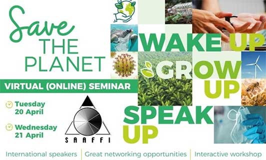 SAAFFI seminar 2021! Great programme for this (virtual) annual event