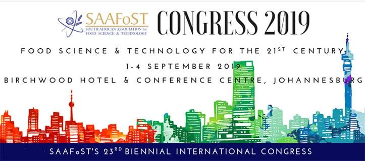 SAAFoST's 23rd Biennial  International Congress and  Expo
