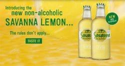 Savanna zero alcohol makes its debut