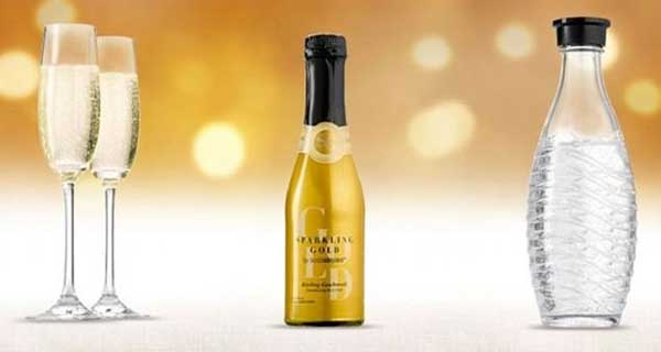 Turn water into wine, literally, with SodaStream's new Sparkling Gold
