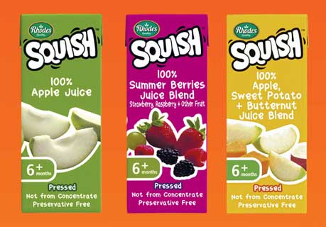 Squish juices