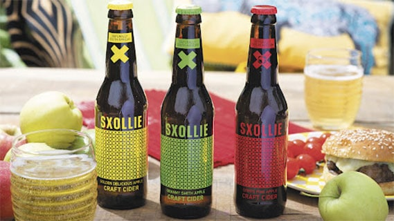 South Africa's SXOLLIE cider on a roll in the UK