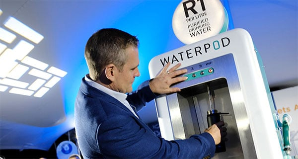 Beating single-use plastic with innovative water dispensing concept